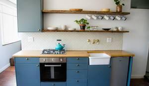Cocinas de estilo ecléctico por Lei Lester Design