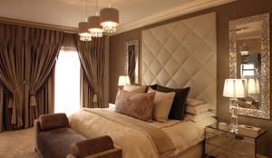 غرفة نوم تنفيذ Tru Interiors