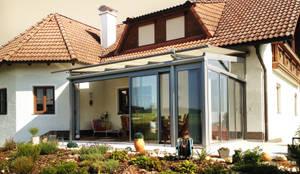 Wintergarten Dachverglasung warmer wintergarten aus aluminium schiebeelementen und