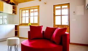 Turismo Rural | Casa Espigueiro: Salas de estar modernas por Tó Liss