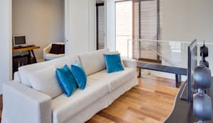 modern Living room by Arqbox