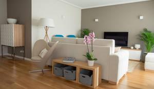 Livings de estilo moderno por MUDA Home Design