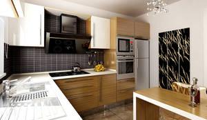 Cucina in stile in stile Moderno di DAYAL Mimarlık