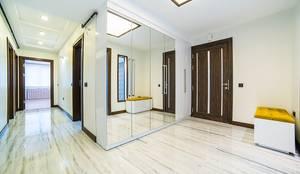 Onn Design – ev dekorasyonu: minimal tarz tarz Koridor, Hol & Merdivenler