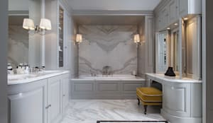 Bespoke design from the Bath Couture service: classic Bathroom by Devon&Devon UK
