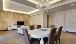 Soggiorno: Sala da pranzo in stile in stile Moderno di Facile Ristrutturare