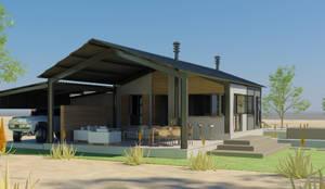 Projekty, nowoczesne Domy zaprojektowane przez Edge Design Studio Architects