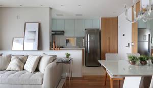 Cozinhas modernas por Danyela Corrêa Arquitetura