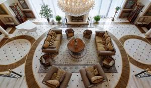 Inan AYDOGAN /IA  Interior Design Office – NG PALACE: klasik tarz tarz Oturma Odası
