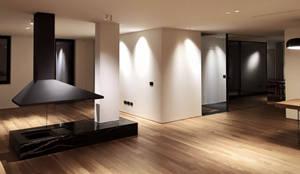 Salones de estilo minimalista de MM A | Massimiliano Masellis Architetti