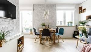Phòng ăn by Saje Architekci Joanna Morkowska-Saj