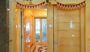 : modern Corridor, hallway & stairs by Koncept Architects & Interior Designers