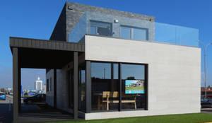 Casa cube de 100 metros cuadrados de casas cube homify - Cube casas prefabricadas ...