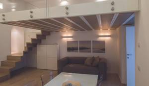 STUDIO ACRIVOULIS      Architettra + Interior Design: modern tarz Oturma Odası