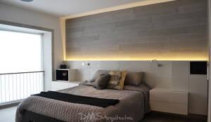 غرفة نوم تنفيذ DMS Arquitectas