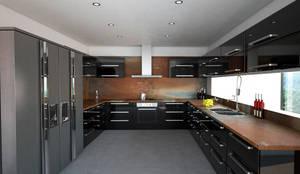 Cocina: Cocinas de estilo moderno por Vivian Dembo Arquitectura