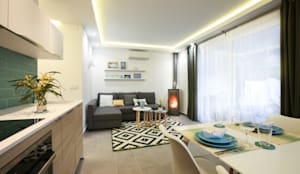 mediterranean Living room by DIKA estudio