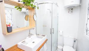 Baños de estilo escandinavo por DIKA estudio
