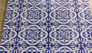 Collezione BLU COBALTO: Pareti in stile  di  Ceramiche Militello