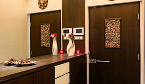 Proposed Interior Of 3BHK Flat: classic Windows & doors by KANAKIA INTERIOR AND CONSULTANCY