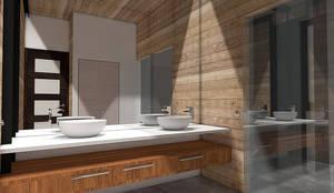 Casa MB: Baños de estilo moderno por Smartlive Studio