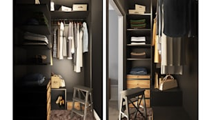 Closets escandinavos por OBJECT