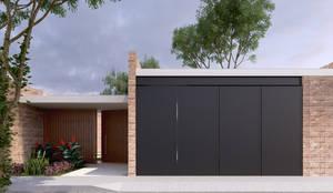 Casas de estilo minimalista por EMERGENTE | Arquitectura