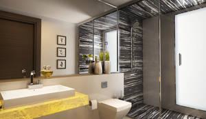 حمام تنفيذ Koncept Architects & Interior Designers,