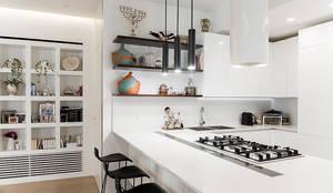 Archenjoy - Studio di Architettura - : modern tarz Oturma Odası