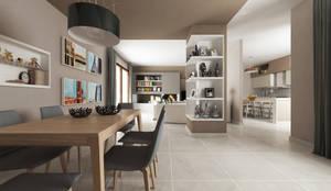 Salon de style de style Moderne par De Vivo Home Design