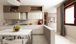 Casa AA: Cucina in stile in stile Moderno di De Vivo Home Design