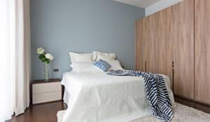 Dormitorios de estilo moderno por 賀澤室內設計 HOZO_interior_design