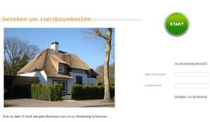 Bereken uw (ver)bouwkosten:  Huizen door watkostbouwen.nl ,