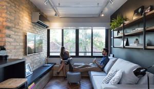 غرفة المعيشة تنفيذ K+S arquitetos associados