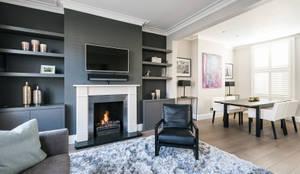 moderne Wohnzimmer von Grand Design London Ltd