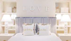Projekty,  Sypialnia zaprojektowane przez Interdesign Interiores