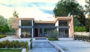 moderne Huizen door Apriori Albero