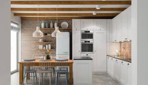 مطبخ تنفيذ PRØJEKTYW | Architektura Wnętrz & Design