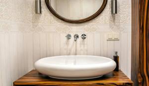 Este Mimarlık Tasarım Uygulama San. ve Tic. Ltd. Şti. – Banyo Lavabosu:  tarz Banyo