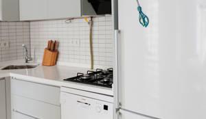 Este Mimarlık Tasarım Uygulama San. ve Tic. Ltd. Şti. – Cihangir Ev Renovasyonu: modern tarz Mutfak