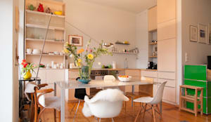 k che im vintage look von berlin interior design homify. Black Bedroom Furniture Sets. Home Design Ideas