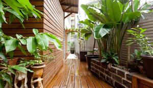 สวน by 芸采創意空間設計-YCID Interior Design