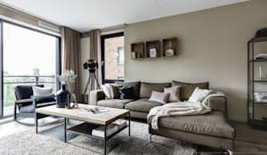 industrial Living room by Marion van Vliet Interieurontwerp