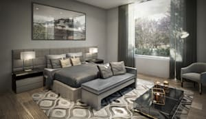 Habitaciones de estilo minimalista por VA STUDIO