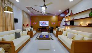 Elegance at Its Best!: classic Living room by Premdas Krishna