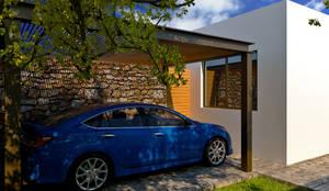 Nhà để xe/Nhà kho by TIZA