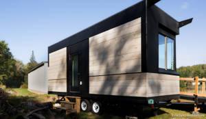 LineSync Architecture - Wheel Pad - Exterior 3: moderne Häuser von Chibi Moku