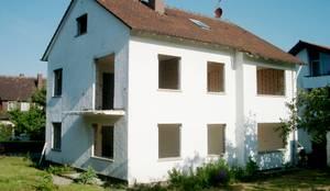Wohnhaus M1 in Bad Boll : moderne Häuser von Gaus & Knödler Architekten