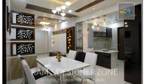 Dinning Area: modern Dining room by KAM'S DESIGNER ZONE
