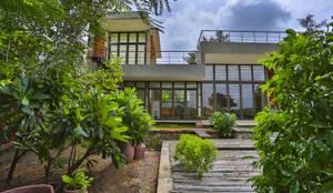 庭院 by prarthit shah architects